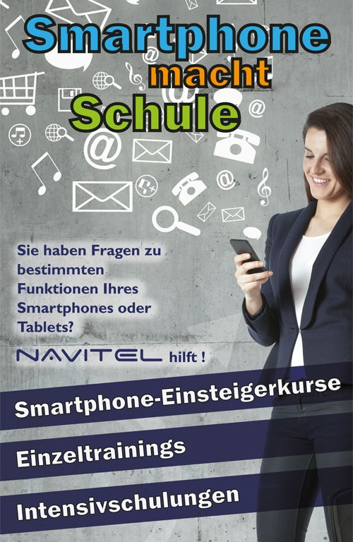 Handy-, Tablet- & Smartphone-Schulung, Bayreuth: Smartphone-Einsteigerkurse, Einzeltrainings, Intensivschulungen