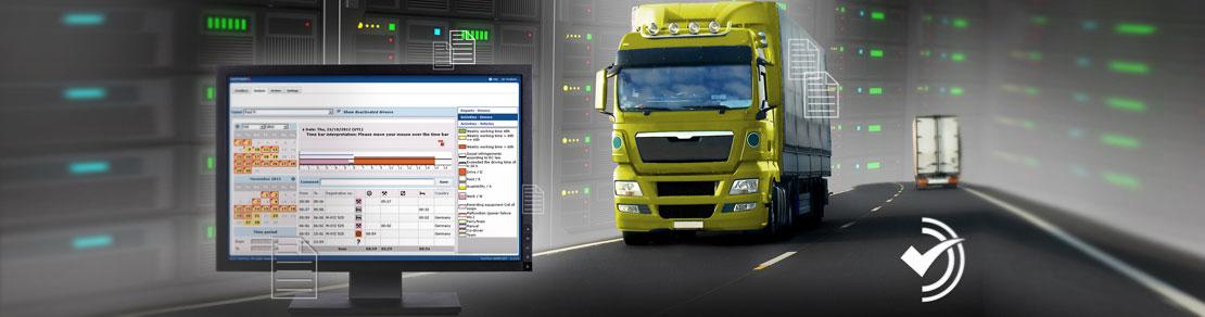 Mobilfunktechnik, Navigation & Kontrolle, Flottensteuerung: Ortung, Routen, Treibstoffverbrauch, Ruhezeiten, Arbeitsaufträge übermitteln, Fahrtenbücher