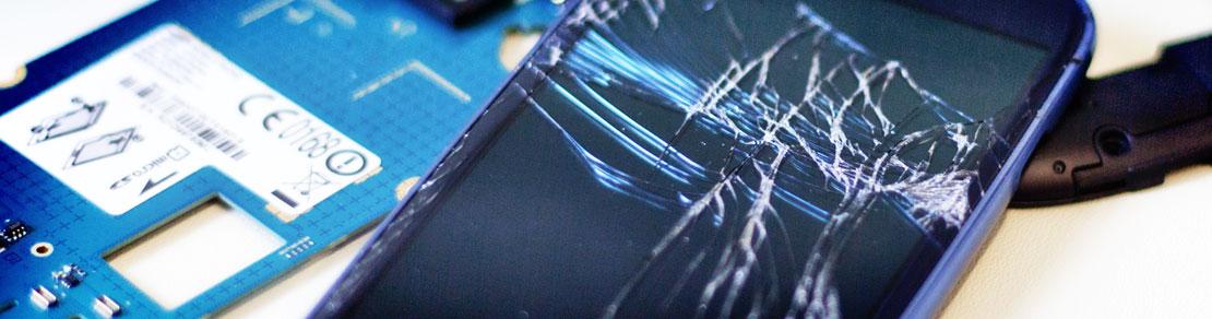 Garantieabwicklung und Handy- und Smartphonereparaturen aller Geräte - Glasbruch, Display, Buttons & Knöpfe, etc.